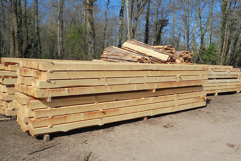 Scirie Labattut découpe de bois sur mesure pour vos charpentes